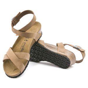 Papillio Birkenstock Lola Wedge Sandal Sand Narrow